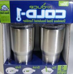 Reduce Cold 1 Stainless Steel Insulated Tumblers 2pk 24-Hr 3