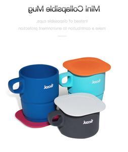 Collapsible Travel Silicone Coffee Mug