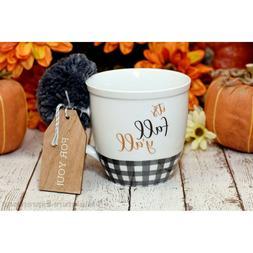collins fall themed coffee mug it s