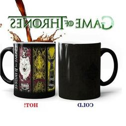 Color Changing Coffee Cup Mug Heat Sensitive for Game of Thr