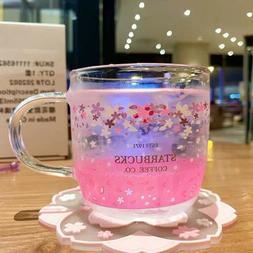Starbucks Color-changing Sakura Glass Coffee Mug Korea Milk