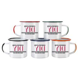 Color handle and side port Enamel <font><b>Coffee</b></font>