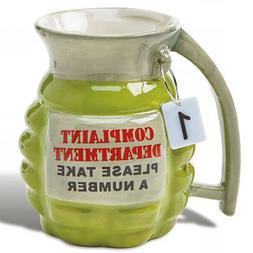 Complaint Department Grenade Coffee Mug Ideal Fun Novelty Ga