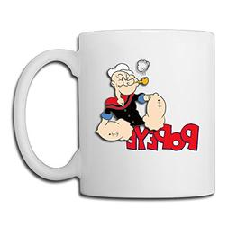 Cool Popeye Ceramic Coffee Mug, Tea Cup | Best Gift For Men,