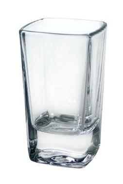 Luminarc Cool Shots 6-Piece Square Shot Glass, 2-3/4-Ounce
