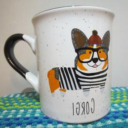 Corgi Coffee Mug Winter Drinkware Puppy Wearing Winter Gear