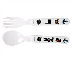 Eat4Fun Duo Collection Kids Fork & Spoon, Boy Doctor