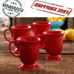Cowgirl Lace Teal Mug Set The Pioneer Woman Vintage Coffee o