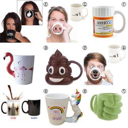 Creative Coffee Mug- Funny Ceramic Mug Cup Christmas Gift fo
