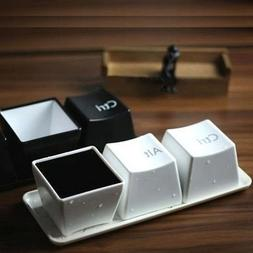 Creative Cup Tea <font><b>Set</b></font> Keyboard Fashion Cu