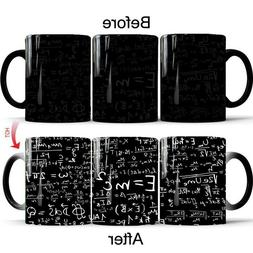 Creative Physics Math Formula Pattern Color Changing Ceramic