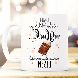 "Cup Coffee Mug Coffee Mug Coffee Mug Book Bookworm Reading """
