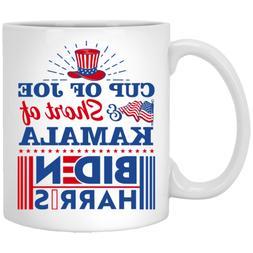 Cup Of Joe And Shot Of Kamala Biden Harris 2020 Ceramic Coff