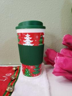 Cups 16 oz Travel Coffee Mug Dishwasher Microwave Safe green