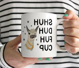 Cuss Word Llama Mug Friend Birthday Gift Funny Coffee Mug Sh