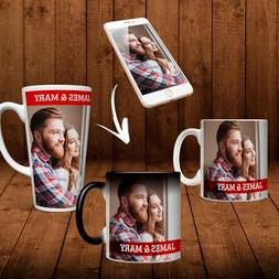 Custom Magic Color Change Mug Photo Cup Gift Personalized by