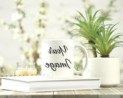 Custom Photo Mug Coffee Cup Picture Photo Text Phrase Logo P
