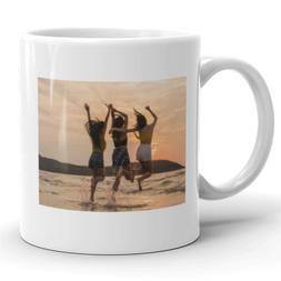 Custom Photo Picture 11 OZ Ceramic Coffee Mug Tea Glass Cup