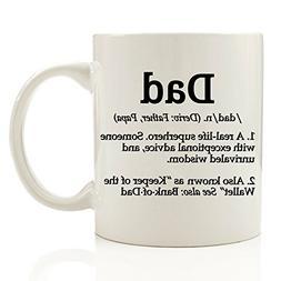 Dad Definition Funny Coffee Mug 11 oz - Top Birthday Gifts F