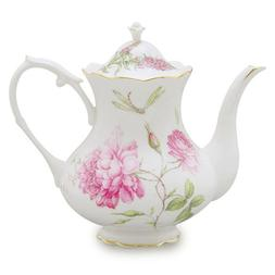 Gracie China Dahlia Porcelain 4-Cup Teapot