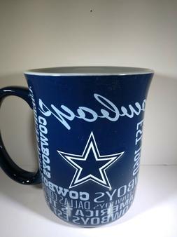 Dallas Cowboys Boelter NFL Spirit Coffee Mug 17oz FREE SHIP!