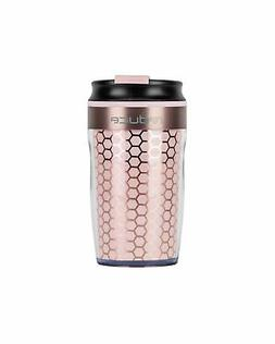 reduce DASH Insulated Tumbler - Coffee Travel Mug with Threa