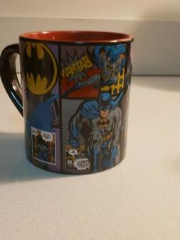 DC COMICS SILVER BUFFALO BATMAN COFFEE MUG 14 oz .Condition
