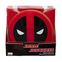 DEADPOOL Plate Set - Set of 4 Plates, all With Different Dea