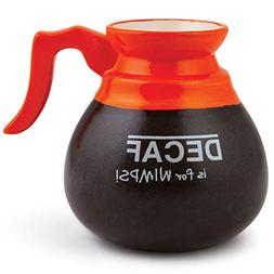 Decaf Is For Wimps Coffee Tea Mug By Big Mouth Toys Holds 8