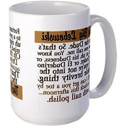 Demon Decal Big Lebowski Large Mug Large Mug - Standard Mult