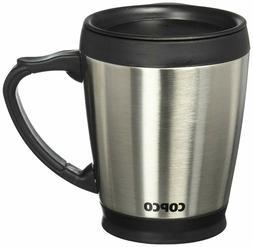 desktop stainless steel coffee mug