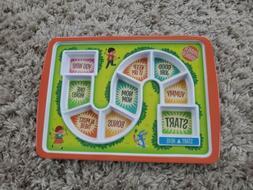 Fred Dinner Winner Kids Plastic Plate Dinner Game Picky Eate