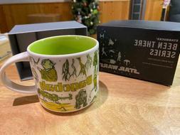 Disney Star Wars Mug Dagobah Starbucks Been There Series Cof