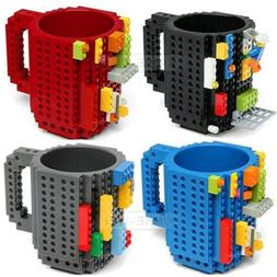 DIY Creative Lego Brick Mug Building Blocks Coffee Cup Block