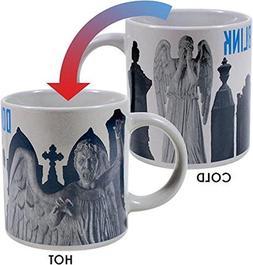 Doctor Who - Weeping Angel Heat Changing Coffee Mug - Add Ho