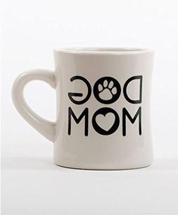DOG MOM ~ DINER COFFEE MUG ~ Holds 10oz of Coffee ~ Vintage