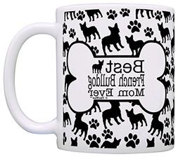 Dog Owner Gifts Best French Bulldog Mom Ever Paw Pattern Gif