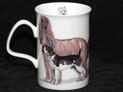 ROY KIRKHAM DOGS GALORE Fine Bone China LANCASTER Mug #4a