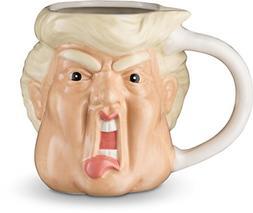 Donald Funny Novelty Mug 20 Oz - Hand Painted Trump Face Sha