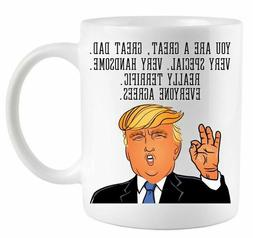 Donald Trump Father's Day Coffee Mug 11 oz Mug Gift for Dad