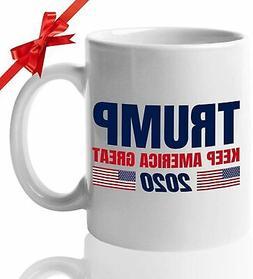 DONALD TRUMP Keep America Great 2020 Coffee Mug Funny Coffee