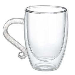 10 Ounces Double Wall Cups, Glass Coffee Cup Mug, Countless