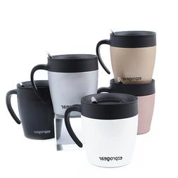 Ezprogear 11 oz Double Wall Stainless Steel Insulated Coffee