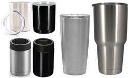 Double Wall Vacuum INSULATED TUMBLERS/COOLERS Stainless Stee