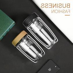 Double walls Glass Cup, Glass Coffee <font><b>Mug</b></font>