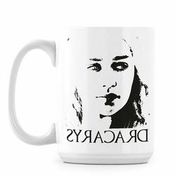 Dracarys Mug Game Thrones Coffee Cup Khaleesi Gift Dragon