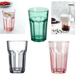 a60cc3e78fa Drinking Tumbler Glasses Set Tall Colour...