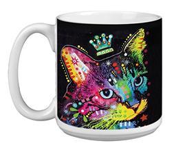 The Duchess Cute Cat Extra Large Mug 20-Ounce Jumbo Ceramic