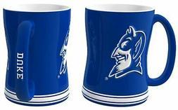 Duke Blue Devils Coffee Mug - 14oz Sculpted Relief