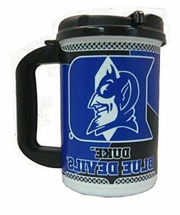 DUKE BLUE DEVILS TRAVEL TUMBLER INSULATED COFFEE MUG CUP NCA